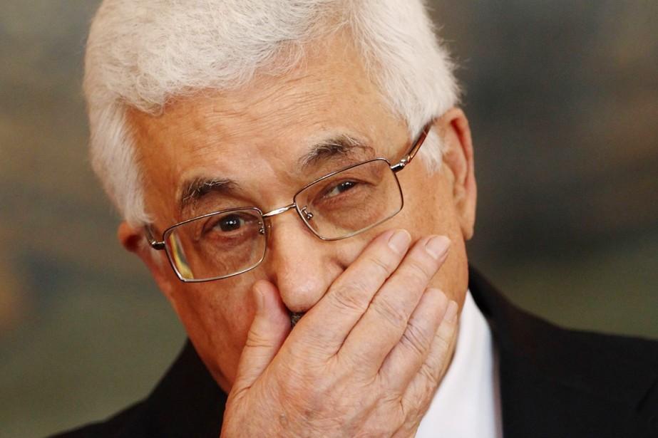 Le président de l'Autorité palestinienne, Mahmoud Abbas, à... (PHOTO HEINZ-PETER BADER, ARCHIVES REUTERS)