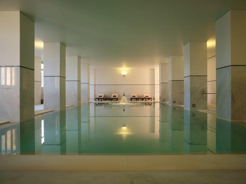 La piscine de la pousada da Serra da Estrela. (Photo fournie par le groupe Pestana)