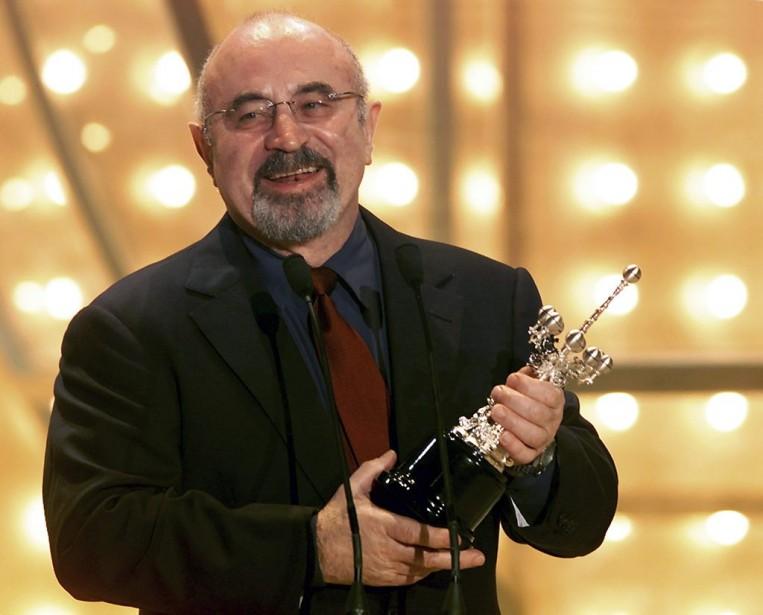 Bob Hoskins recevait le Donostia Award pour sa contribution au cinéma au Festival de San Sebastian en septembre 2002. (Photo: archives Reuters)