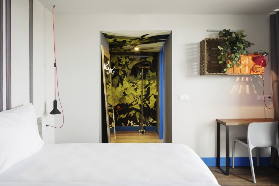 On trouve le minimum de confort dans les chambres de l'hôtel. (Photo fournie par The Generator)