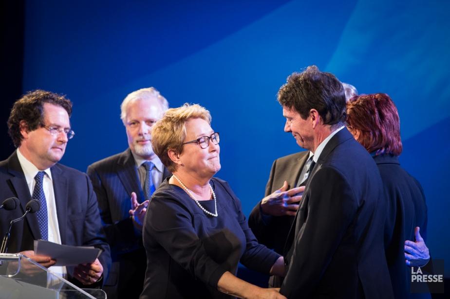 Pauline Marois a démissionné comme chef du PQ... (PHOTO OLIVIER PONTBRIAND, LA PRESSE)
