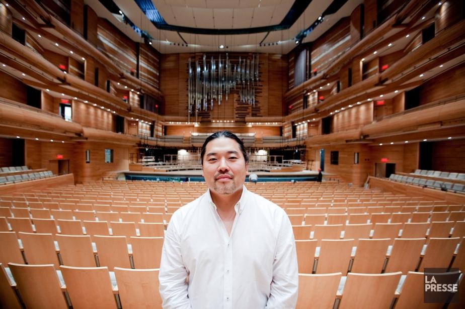 Tateo Nakajima, acousticien et ... chef d'orchestre.... (PHOTO MARCO CAMPANOZZI, LA PRESSE)