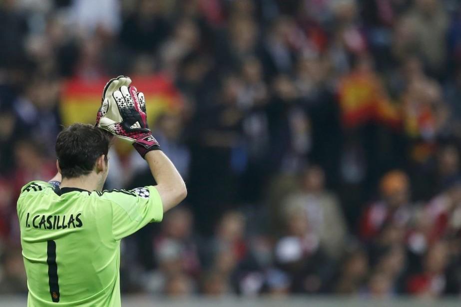 Iker Casillas... (PHOTO MICHAELA REHLE, REUTERS)