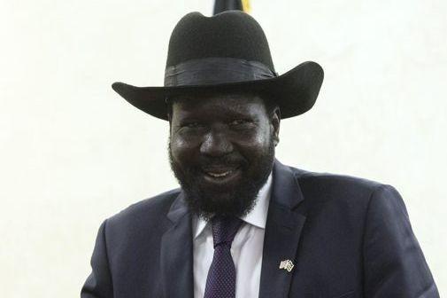Salva Kiir, le président du Soudan du Sud.... (Photo Saul Loeb, AP)