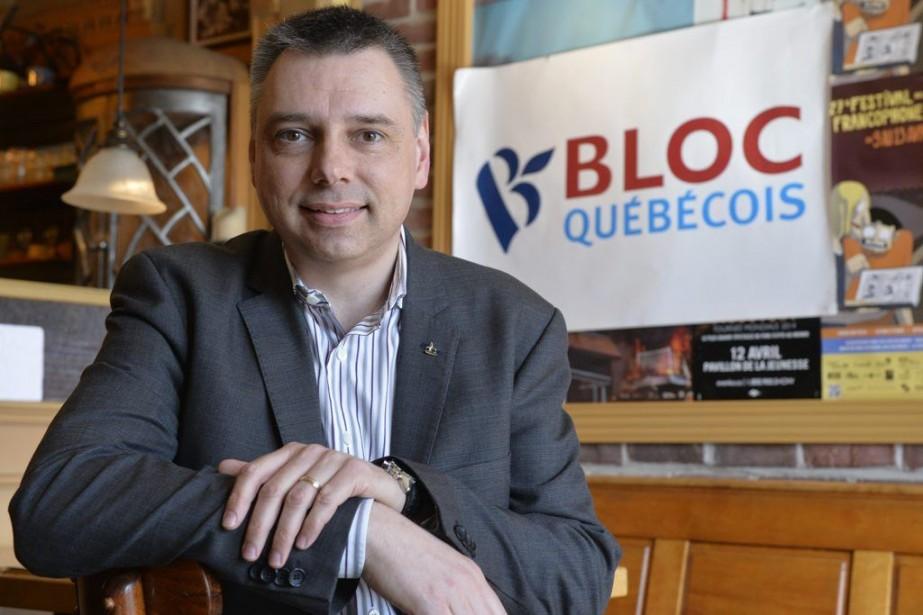 Le député André Bellavance est le premier candidat... (PHOTO PASCAL RATTHÉ, LE SOLEIL)