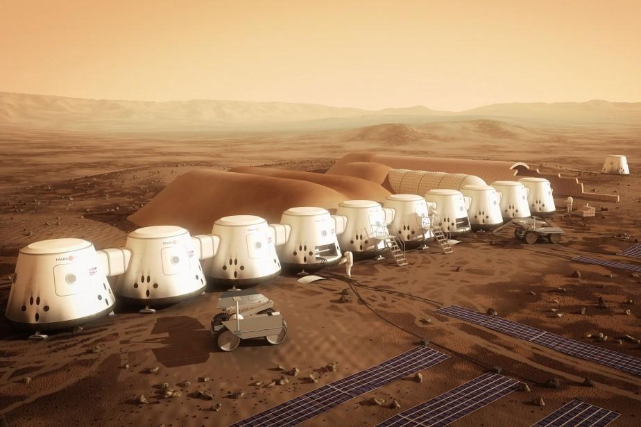 Le projet Mars One a pour but d'envoyer... (Photo Bryan Versteeg, PC)