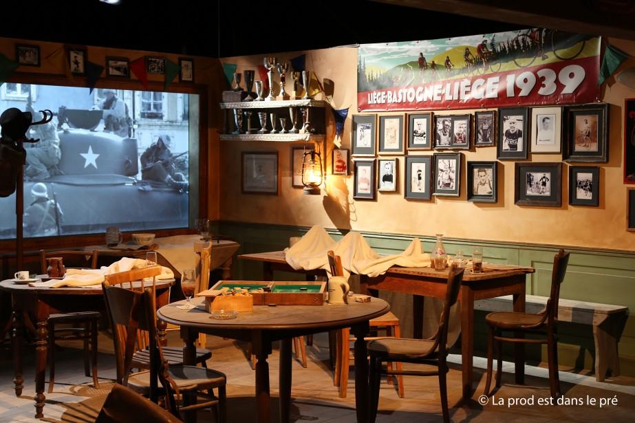 La «bataille des Ardennes» a été déclenchée par la contre-attaque allemande massive ordonnée par Adolf Hitler pour contrecarrer l'avancée des troupes alliées ayant libéré Paris puis Bruxelles. (Photo fournie par le Bastogne War Museum)