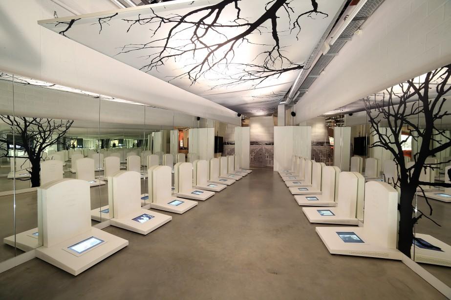 Le Bastogne War Museum ambitionne d'accueillir plus de 50 000 visiteurs américains par an. «Pour les Américains, cette bataille a une forte dimension héroïque. Ils y ont perdu plus d'hommes qu'au Débarquement», souligne Philippe Jarbinet, un auteur ardennais de BD spécialiste de la Seconde guerre mondiale. (Photo fournie par le Bastogne War Museum)