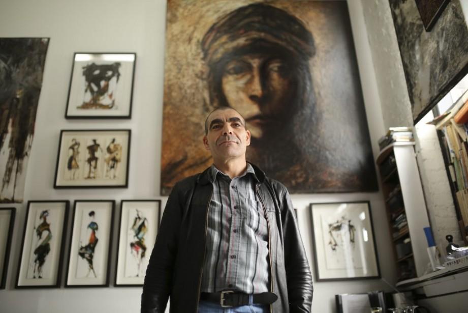 Le peintre d'origine berbère Hassane Amraoui dit «chercher la profondeur dans la mémoire collective» de ce peuple fascinant. | 5 mai 2014