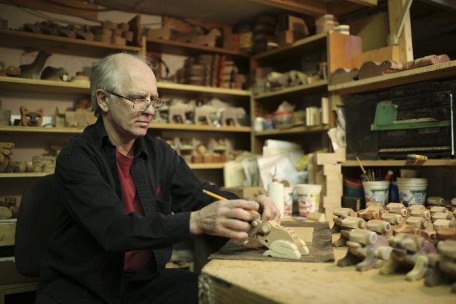 L'artisan Alain Mailhot aime beaucoup la Virée des ateliers. «Les gens sont très curieux. Ils veulent voir comment on est installés et comment on travaille.» | 5 mai 2014