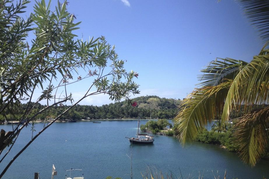 Vue sur la baie à partir des chambres de l'hôtel Port Morgan. (Photo Catherine Lefebvre, collaboration spéciale)