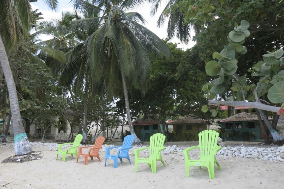 Les bungalows de Village Vacances, tout près de Port Morgan. (Photo Catherine Lefebvre, collaboration spéciale)