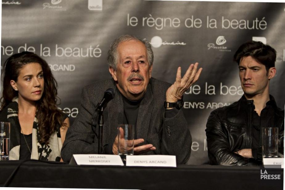 Au milieu des acteurs Melanie Merkosky et Éric... (Photo: Olivier Jean, La Presse)