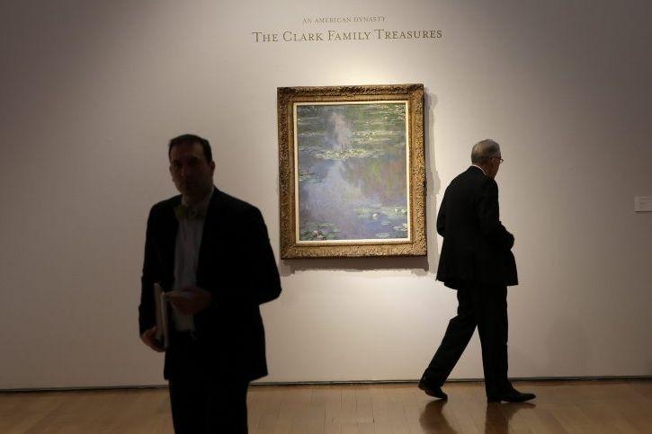 Nymphéas de Claude Monet... (Photo: AP)