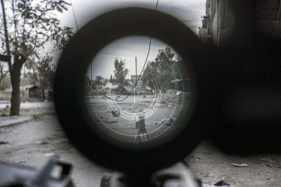L'opposition syrienne pourrait ainsi espérer «changer l'équilibre des... (Photo Narciso Contreras, AP)