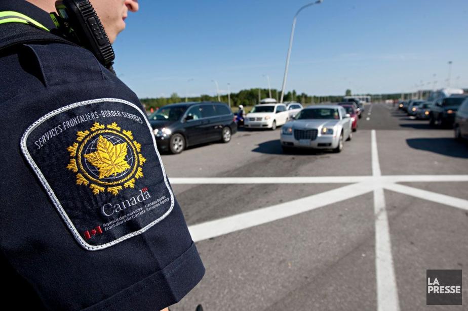 La police canadienne des frontières a annoncé... (Photo archives, La Presse)