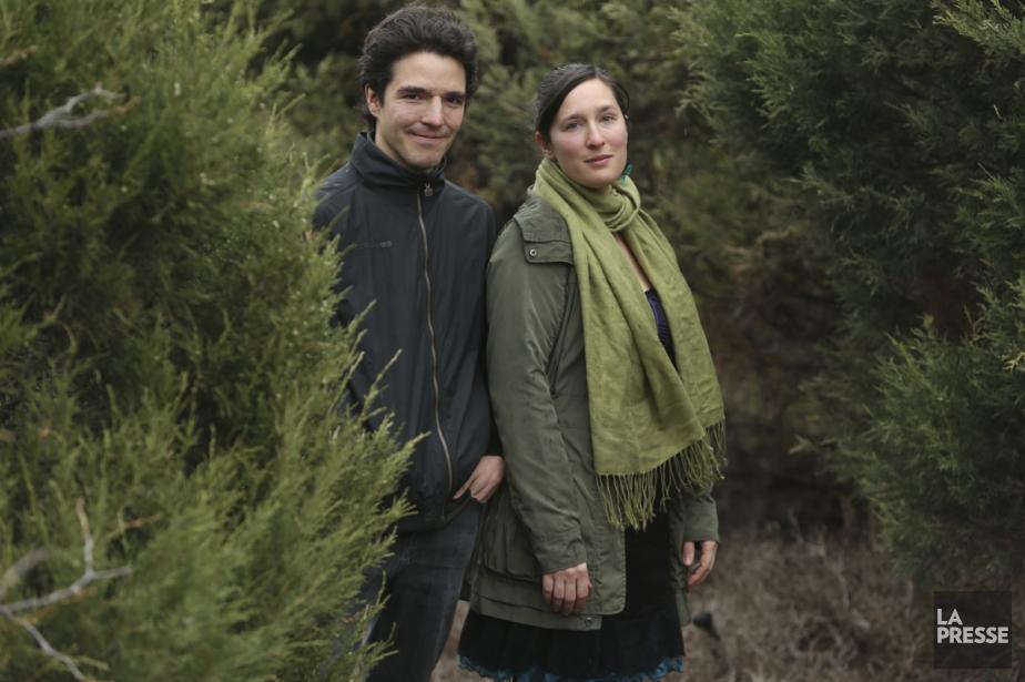 Alexandre de Grosbois-Garand et Mélisande Gélinas-Fauteux lanceront leur... (Photo: Martin Chamberland, La Presse)