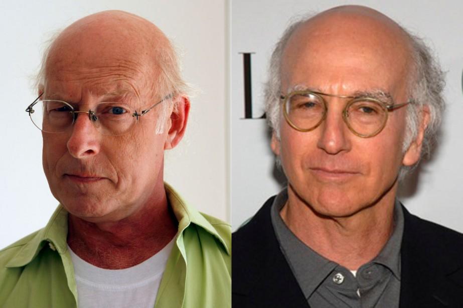 Pierre Légaré et Larry David ()