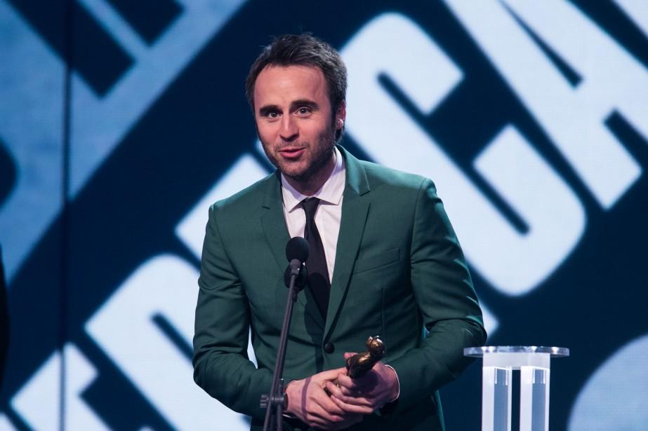 Louis-José Houde a remporté les trophées du DVD d'humour et du spectacle d'humour le plus populaire (PHOTO HUGO-SÉBASTIEN AUBERT, LA PRESSE)