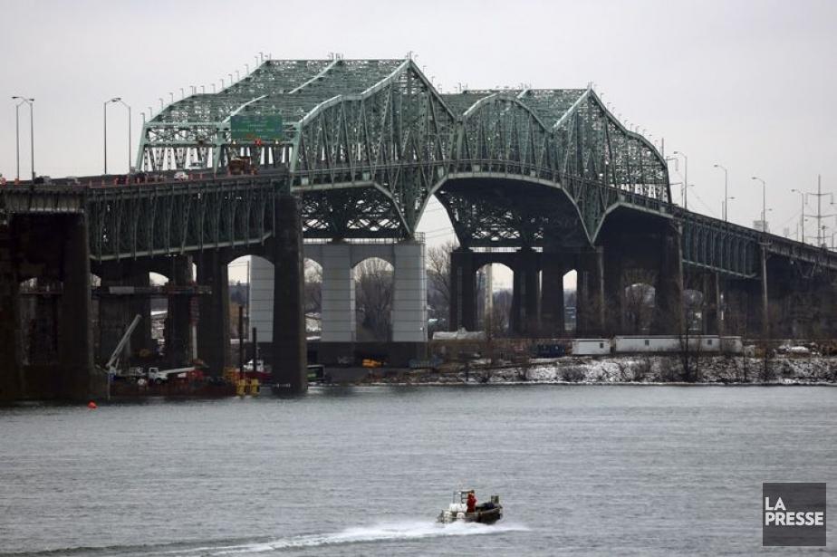 Le pont Champlain.... (Photo: Martin Chamberland, archives La Presse)