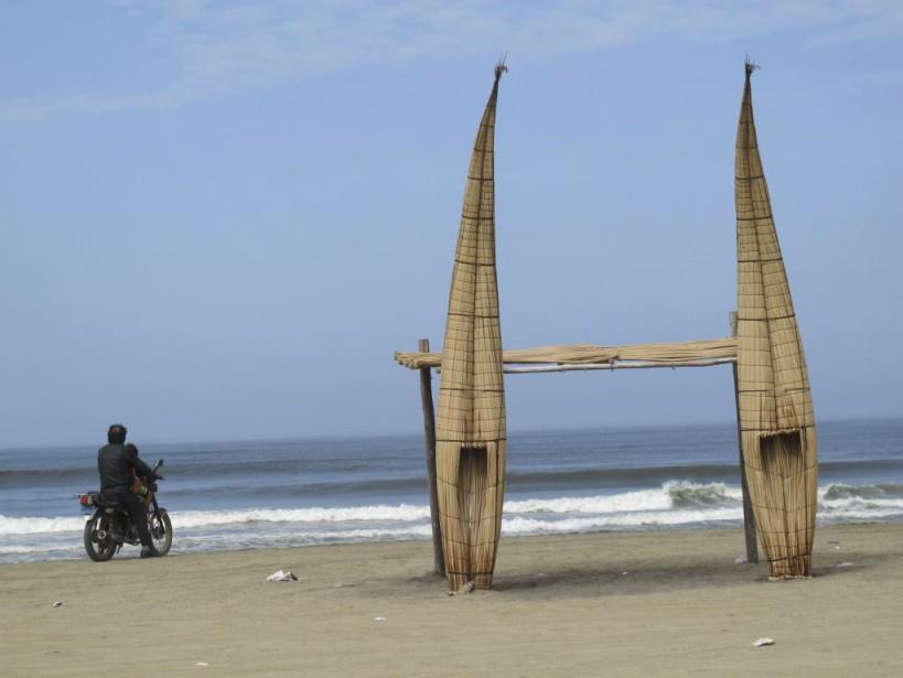 Tôt le matin, la plage n'est pas encore prise d'assaut par les baigneurs. Le moment parfait pour admirer paisiblement le paysage. (Photo Nathaëlle Morissette, La Presse)