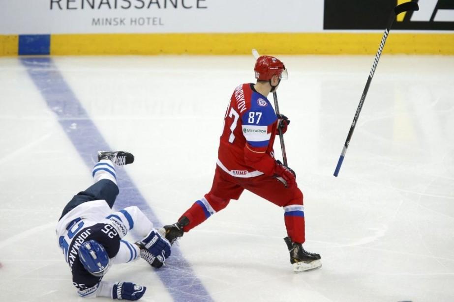 Le Russe Vadim Shipachyov a plaqué durement le... (Photo Alexander Demianchuk, Reuters)