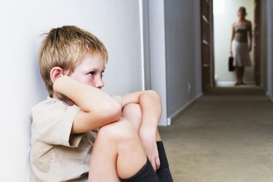 Son père frappait sa mère, a raconté le petit... (PHOTO GETTY IMAGES/ISTOCKPHOTO)