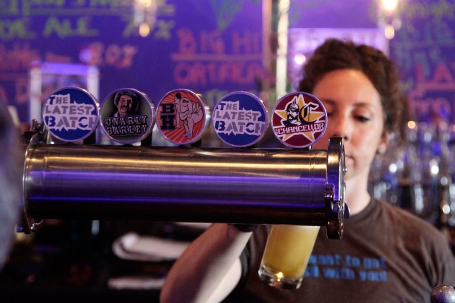 Un petit verre à la Tequesta Brewing Co.... (Photo archives Reuters)