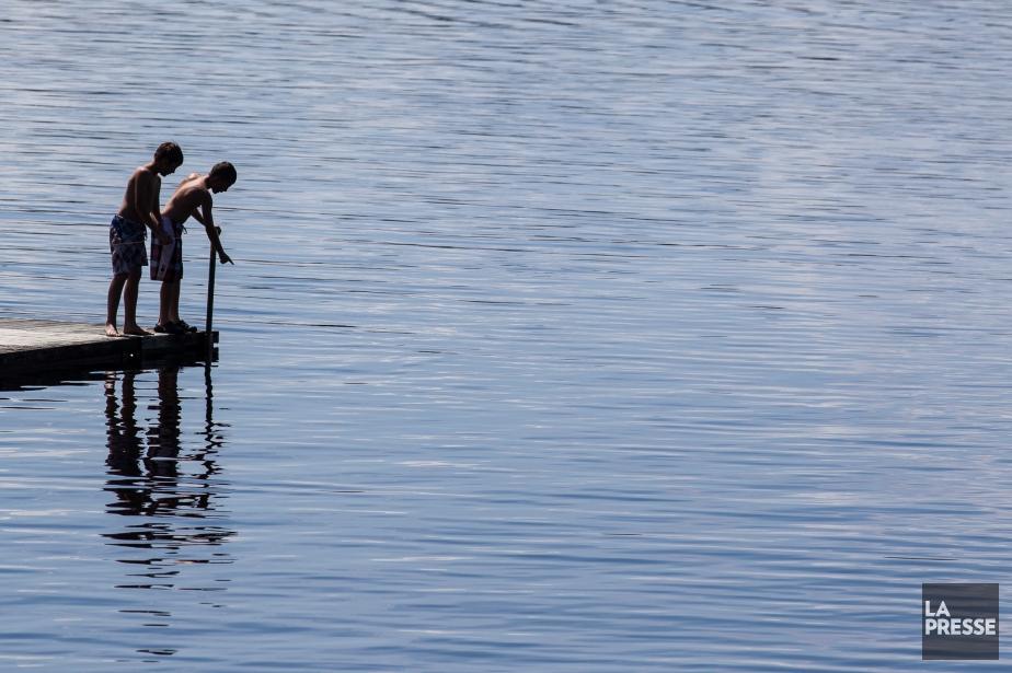 La rivière Chaudière avait été contaminée par le... (Photo Edouard Plante-Fréchette, Archives La Presse)