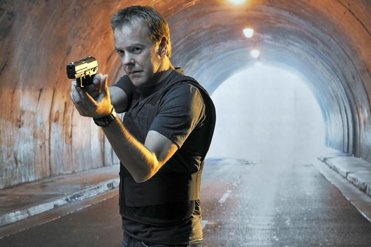 Kiefer Sutherland dans la peau de Jack Bauer,... (Fox)