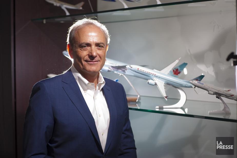 CalinRovinescu, président et chef de la direction d'Air... (PHOTO ANDRÉ PICHETTE, LA PRESSE)