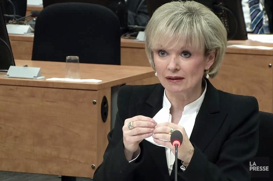 Julie Boulet... (Image tirée d'une vidéo La Presse)