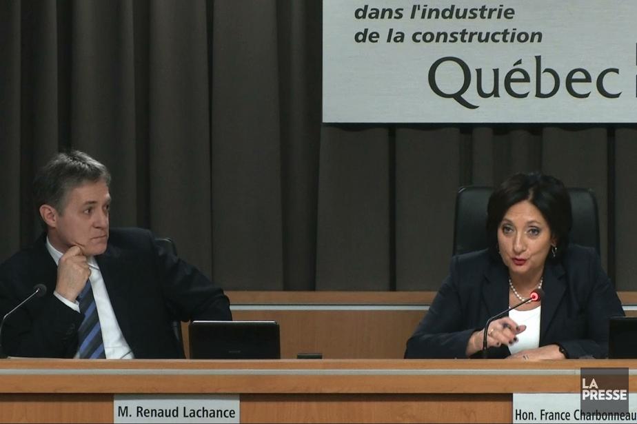 Renaud Lachance et France Charbonneau.... (Image vidéo)