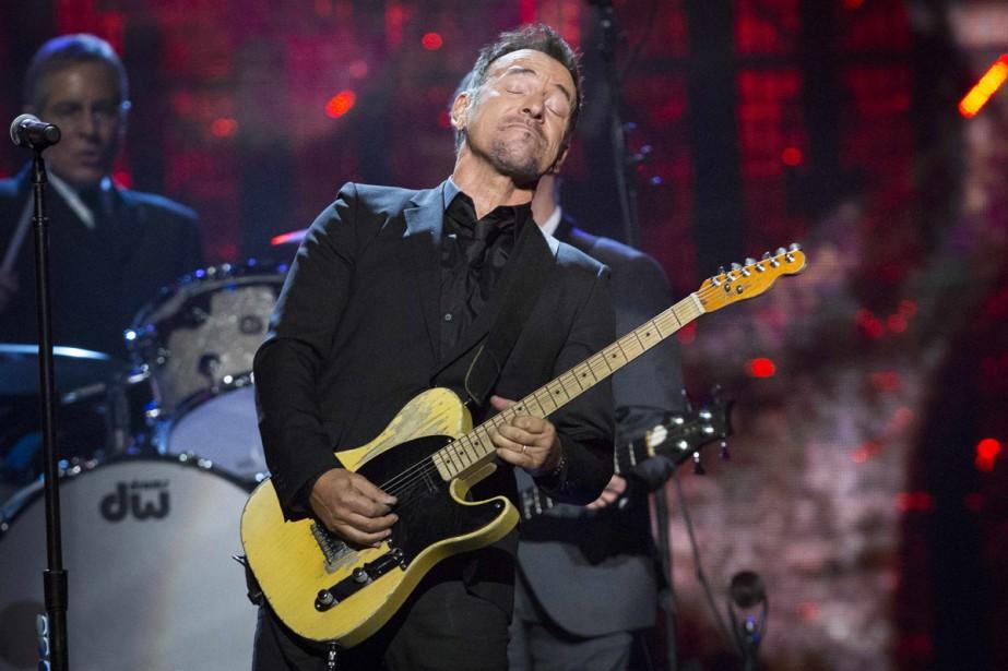Bruce Springsteen à la cérémonie Rock and Roll... (Photo: archives Reuters)