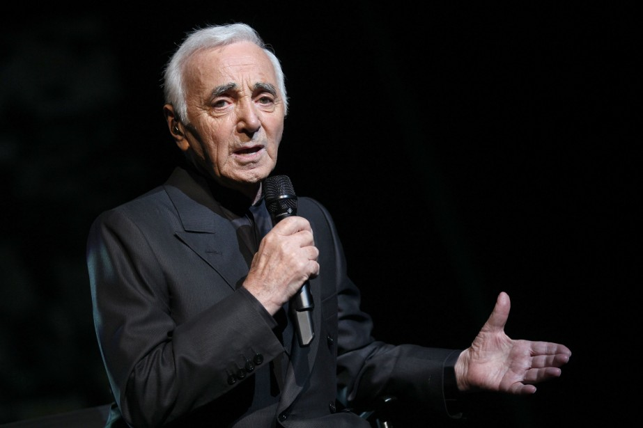 Charles Aznavour... (PHOTO PIERRE VERDY, AFP)