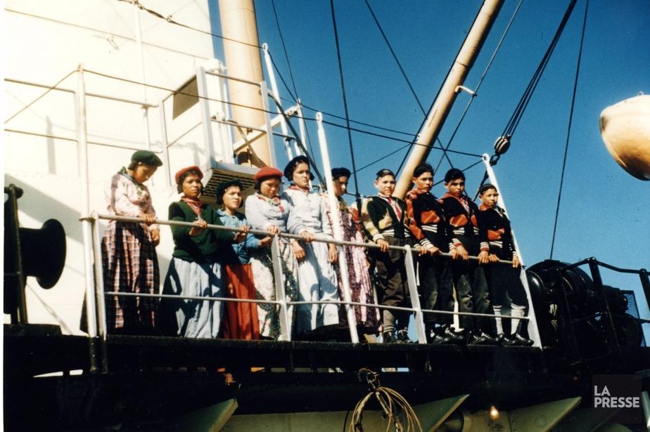Jusqu'à 20000 enfants autochtones ont été retirés de... (Photo Archives BANQ)