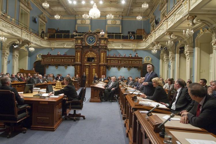 Le premier ministre Philippe Couillard a donné hier... (Photo: PC)