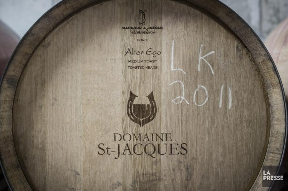 Les produits du Domaine St-Jacques seront également disponibles... (PHOTO OLIVIER PONTBRIAND, Archives LA PRESSE.)