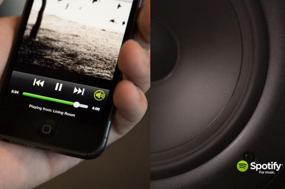 La chanteuseMelissa Ferrick n'accuse pas Spotify de ne... (PHOTO SPOTIFY)