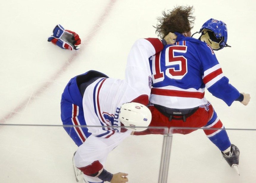 Le hockey des Canadiens Coors Light... (Photo USA TODAY Sports)