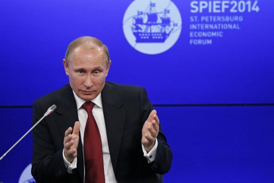 Vladimir Poutine... (Photo AFP)