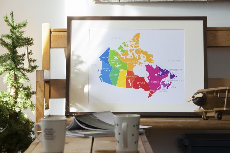 Les cartes géographiques recèlent... (Photo fournie par Bess Callard)
