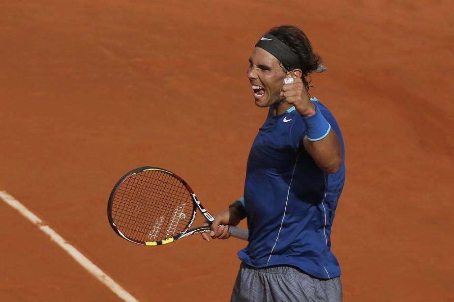 Rafael Nadal n'a pas vraiment été favorisé par... (PHOTO ANDRES KUDACKI, AP)