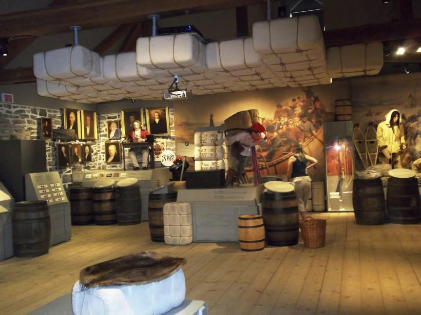 Lieu historique national du commerce-de-la-fourrure-à-Lachine (circuit vert) (Photo fournie par Parcs Canada)