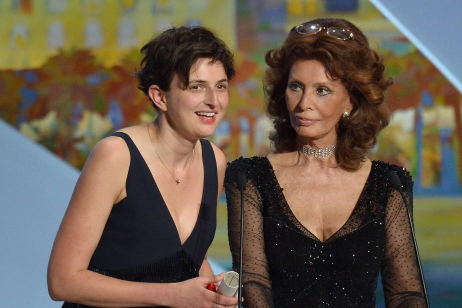 Le Grand prix a été attribué samedi soir à Le meraviglie (Les merveilles), seul film italien de la Sélection officielle, réalisé par Alice Rohrwacher. (Photo AFP)