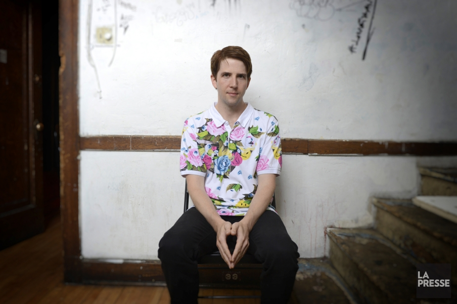 Collaborateur du groupe Arcade Fire, Owen Pallett mène... (Photo Bernard Brault, La Presse)