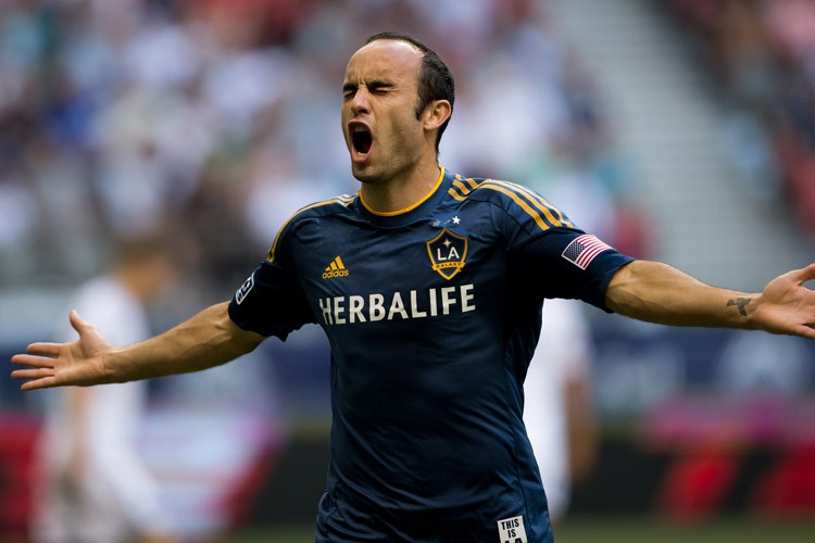 Landon Donovan... (Photo archives La Presse canadienne)
