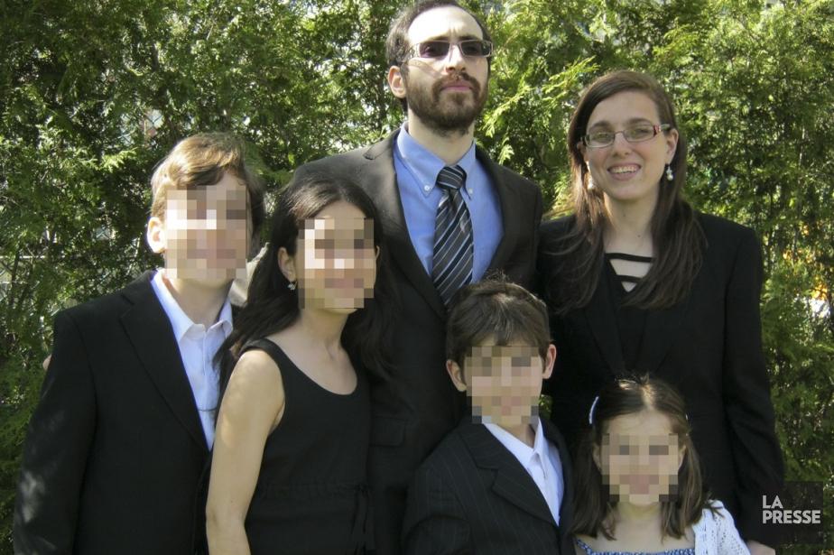 Yohan et Shifra en famille. Le couple a... (PHOTO ARCHIVES LA PRESSE)