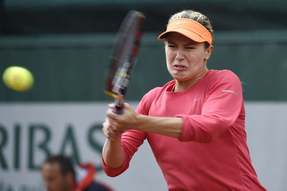 Eugenie Bouchard s'est imposée facilement en deux manches... (Photo Dominique Faget, AFP)