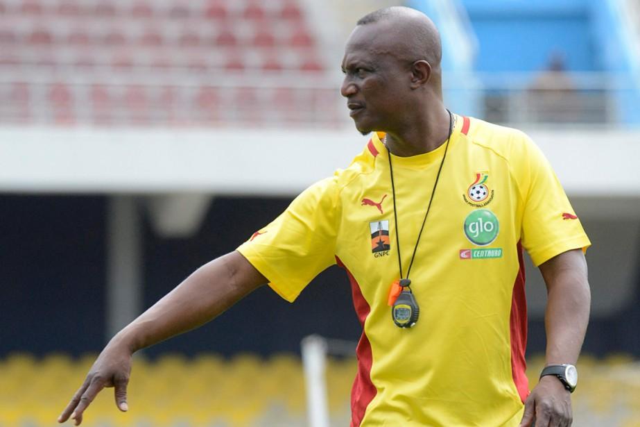 Le sélectionneur du Ghana, James Kwesi Appiah.... (Photo Emmanuel Quaye, Reuters)
